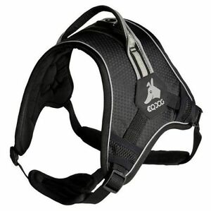Eqdog Classic Harness Harnais Everyday noir harnais pour chien