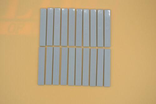 LEGO 20 x Fliesen neuhell grau Light Bluish Gray Tile 1x6 6636