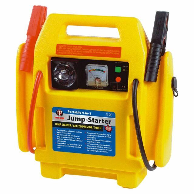 Halfords Car Battery Charger Jump Start Starter Compressor 650 Amps 17ah 2 0l For Sale Ebay
