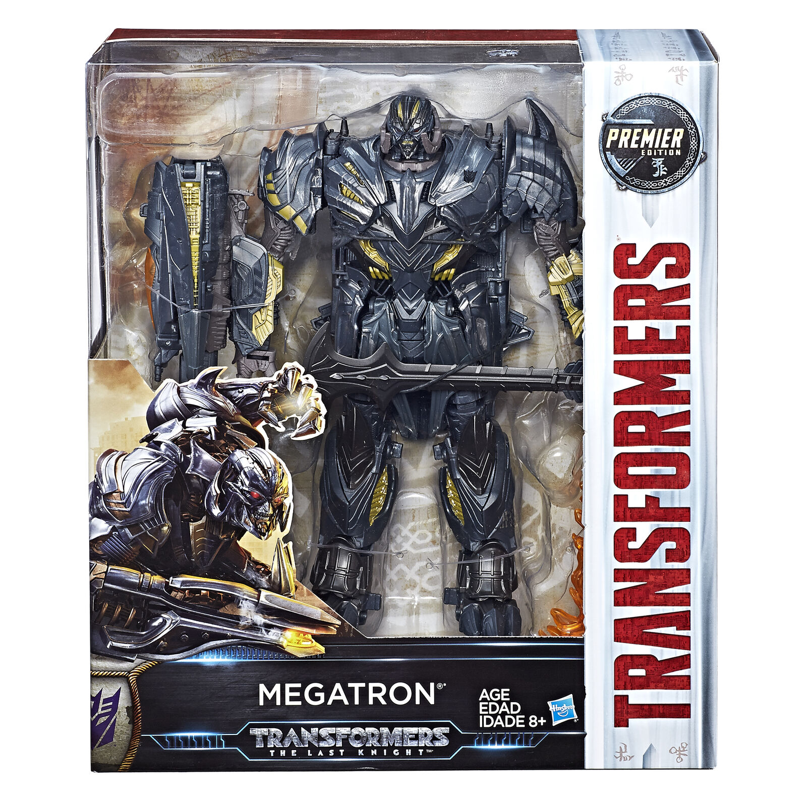 Hasbro Transformers Last Knight Premier edizione Leader classe Megatron nuovo
