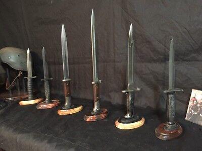 "5/"" tall Acrylic WW2 Japanese Army Samurai Sword Bayonet Dagger  Display Stand"
