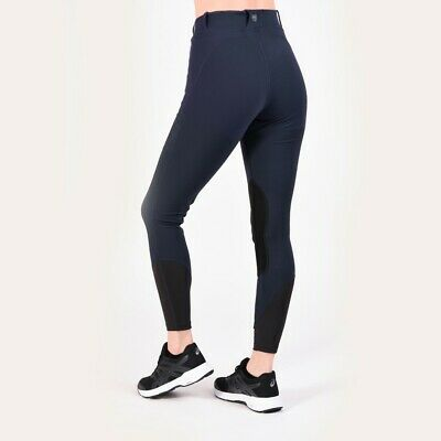 Noble Equestrian Ladies Printed Balance Riding Tights Imperial Blue X-Large