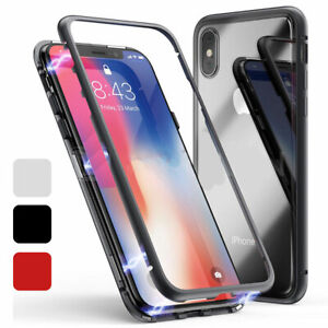 Luxury-Magnetic-Adsorption-Case-For-iPhone-11-Pro-Max-XS-6s-8-7-Plus-Glass-Cover