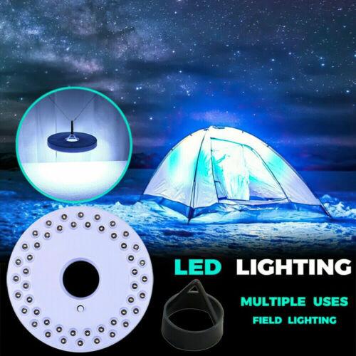 48LED Patio Umbrella Parasol Light Pole Camping Tent Light Outdoor Garden Lamp