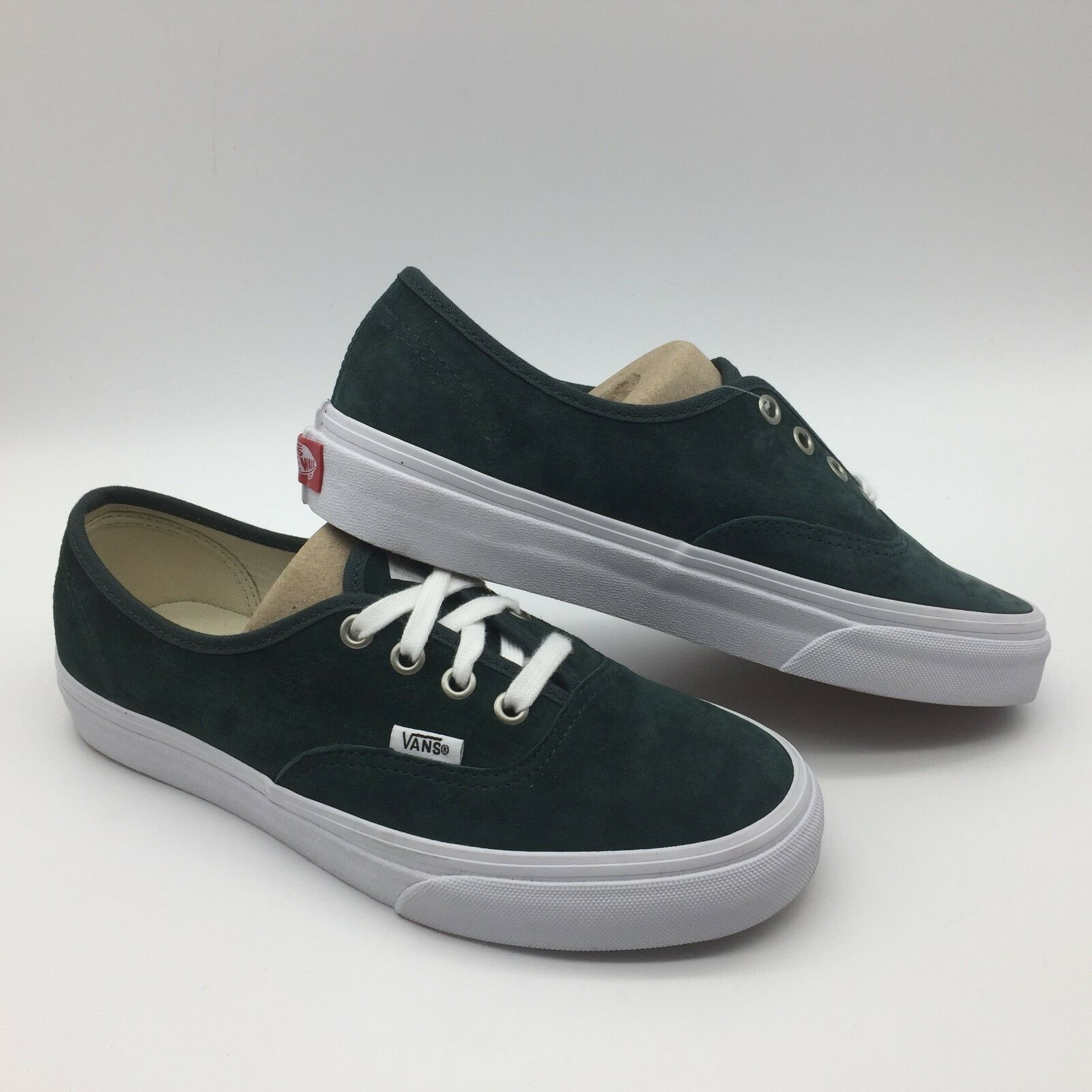 Vans Men Women's shoes's  Authentic (Pig Suede) Darkest Spruc