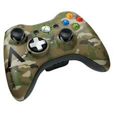Official Microsoft Xbox 360 Wireless Camouflage Controller VG Genuine OEM Camo