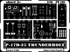 Eduard Zoom FE105 1/48 Academy Republic P-47D-25 Thunderbolt