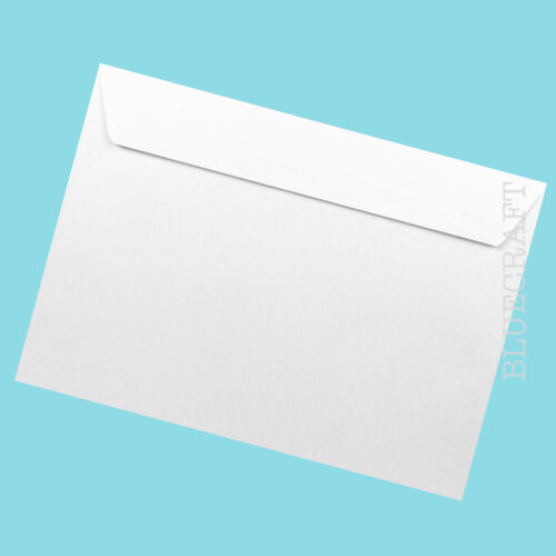 C5 Premium Peel & Seal Envelopes 120gsm - 162 x 229mm - 12 colours available
