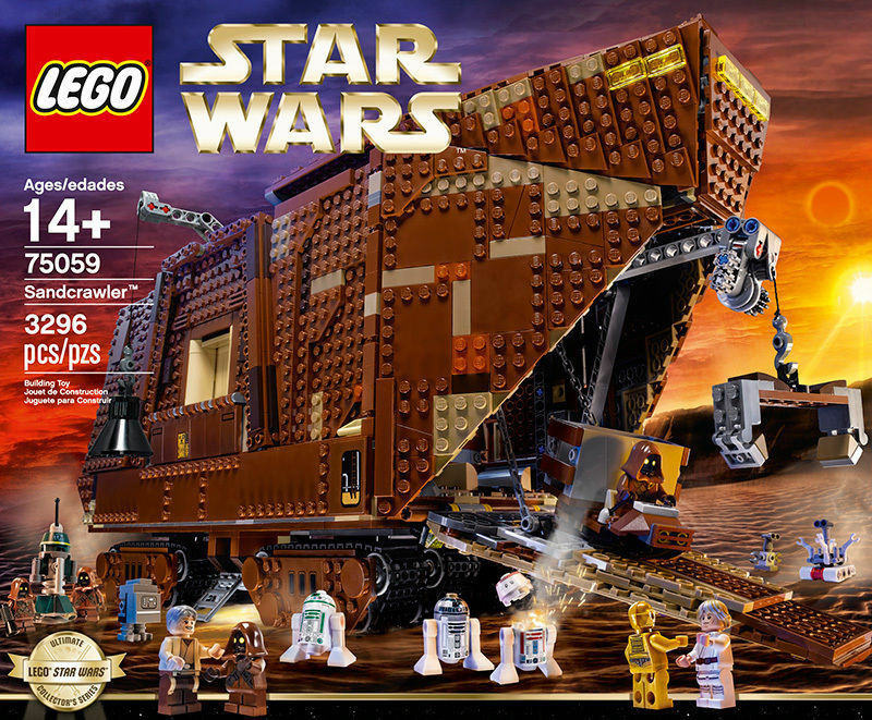 Lego Star Wars UCS Ultime Collector SERIES Sandcrawler 75059 DGSIM