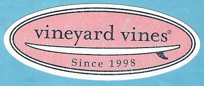 NEW AUTHENTIC VINEYARD VINES ROWING CREW WHALE STICKER DECAL