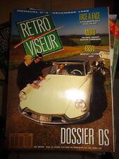 RETROVISEUR n°4 : Dossier: Citroën DS