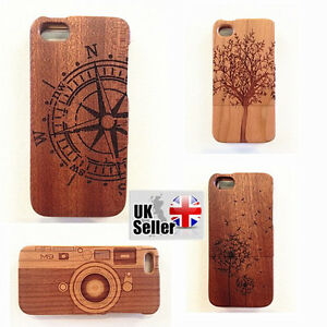 best sneakers 18ec0 e5ac1 Details about Handmade Natural Real bamboo and wooden iphone 5/5s cases  cover variety designs