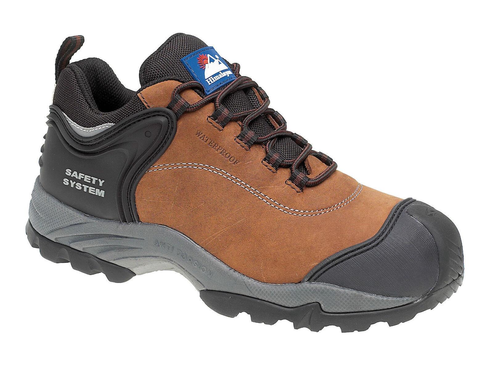 Dell' Marrone Himalaya 4105 S3 SRC Marrone Dell' Composito Punta Metallo libero Impermeabili Scarpe di sicurezza 11633b
