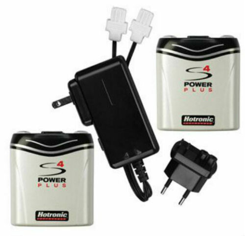 Hotronic FootWarmer S4 Power SetBattery Pack Pair Recharger Ski Boot Heater