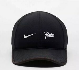 85892579aff Image is loading Nike-x-Patta-Publicity-Aerobill-Featherlight-Cap-Black-