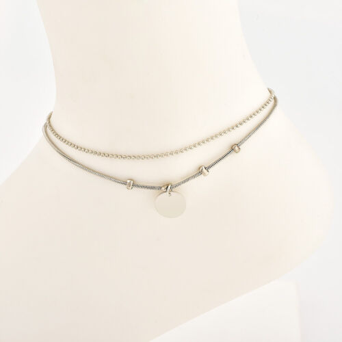 Women Crystal Gold Ankle Bead Chain Anklet Foot Jewelry Sandal Beach Jewelry Hot