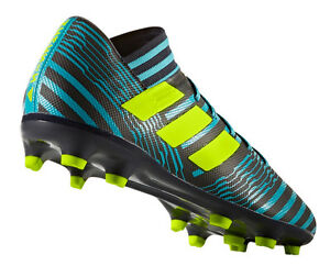lowest price 606e0 79d0c Image is loading Adidas-football-men-shoes-nemeziz-17-3-FG-