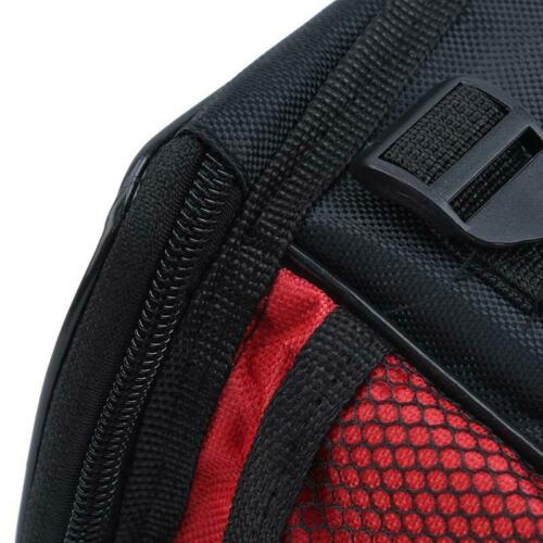 Large Basket Bike Front Bag Handlebar Tube Frame Pouch Reflective Waterproof LJ