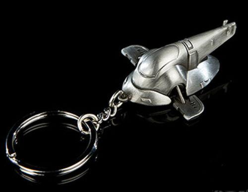Pewter Key Chain from QMX-FREE S/&H Boba Fett/'s Ship Star Wars SLAVE 1 SWKC-03