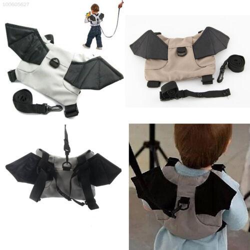 Baby Child Toddler Bat Walking Safety Harness Rein Backpack Walker Strap Bag