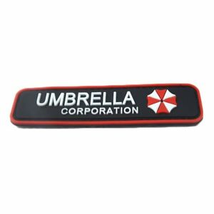 Umbrella Corporation Klett Patch B-Ware Paintball Resident Evil Gaming Merch Funsport