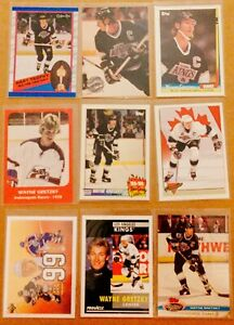 9-Card-034-Oddball-034-lot-WAYNE-GRETZKY-Edmonton-Oilers-HOF-Insert-More-NM-MT-1978-92