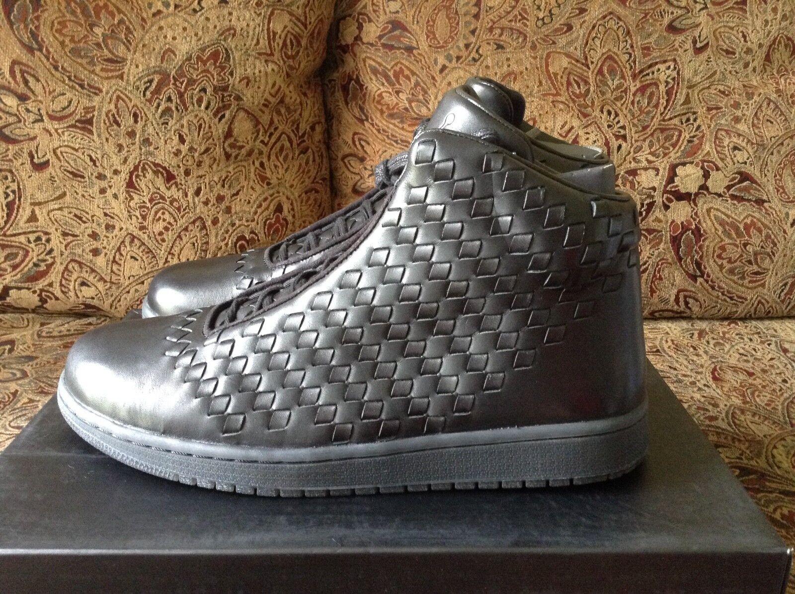 Nike Jordan Brillo 6894-010 Negro Tamaño Tamaño Tamaño Air 10 4b2a46