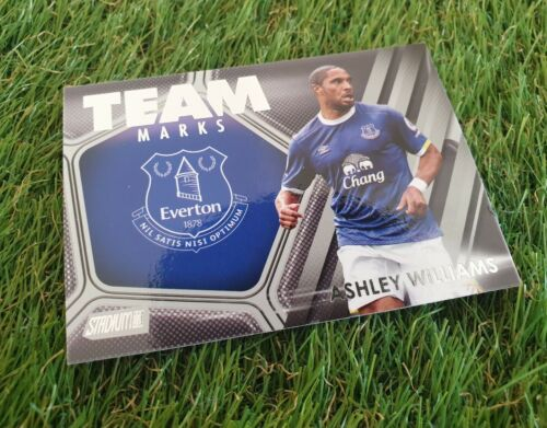 Topps Stadium Club PL 2016-marcas de equipo inserte la tarjeta-Williams-FC Everton