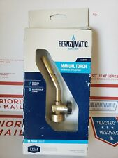 Bernzomatic Ul2317 Manual Torch General Applications Durable Brass Adjustable
