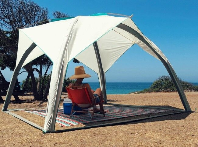 AIR TIGHT WATERPROOF Inflatable Beach Camping Yard Lawn Awning Canopy Tent