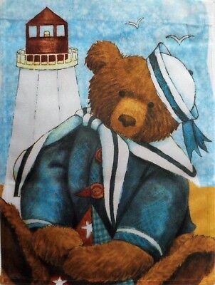 Sailor Bear Garden Flag by Toland #1110,