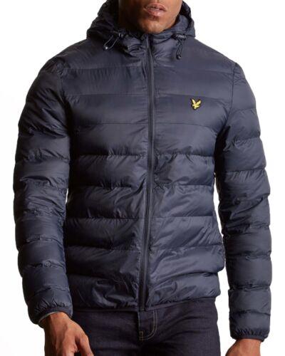 para abrigo acolchada hombre chaqueta marino exteriores azul Scott cálido edredón marino para Lyle acolchado azul xqnpz0xX