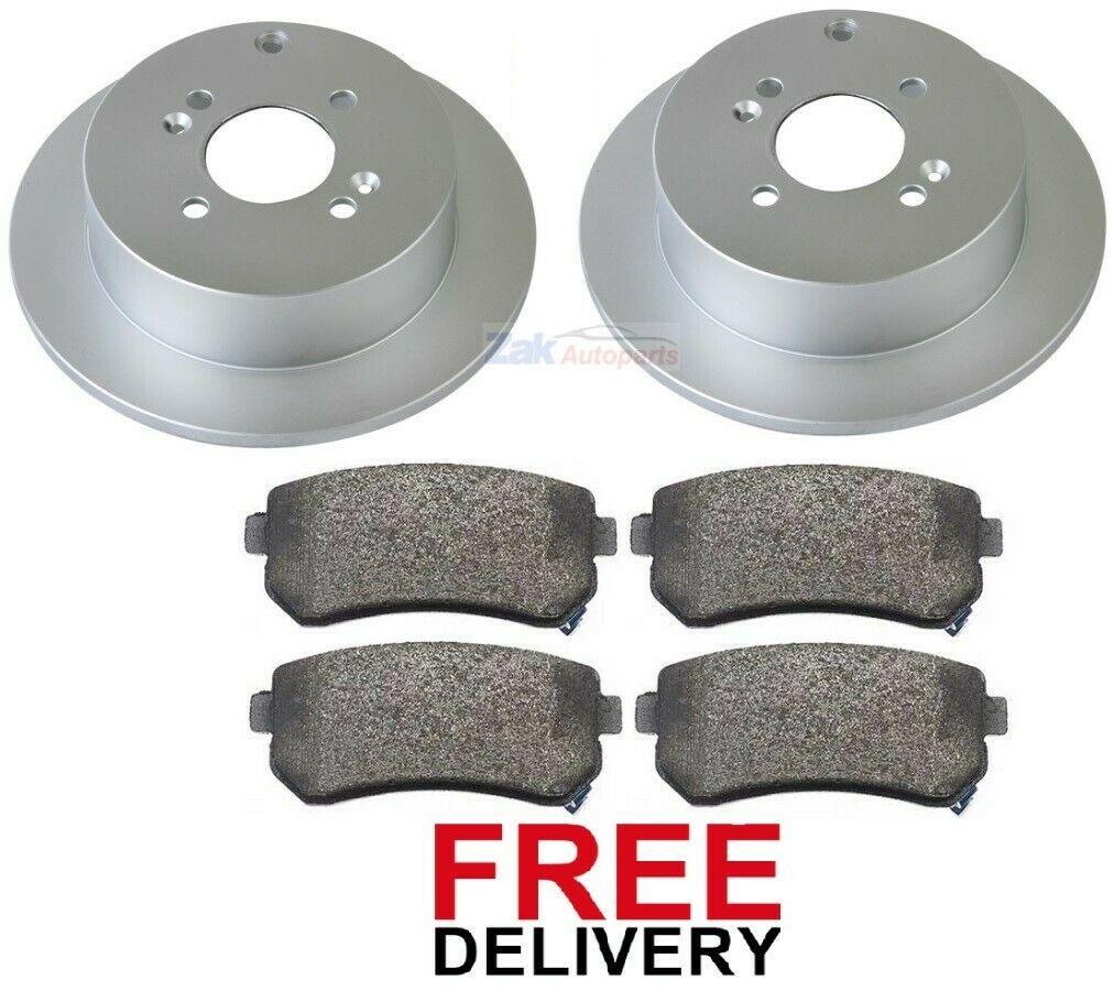 New Fits Kia Sorento MK2 2.2 CRDi Genuine Mintex Rear Brake Discs Pair x2