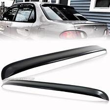 Black ABS Plastic Rear Roof Window Visor Spoiler For 98-02 Toyota Corolla Sedan