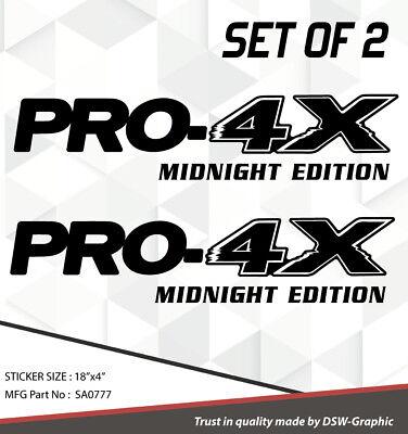 *NEW* 4X4 SPORT OFFROAD DECAL STICKER FITS TITAN PRO-4X FRONTIER XTERRA SUV 718