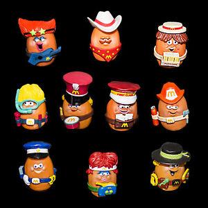 McDonalds-1988-McNugget-Nugget-Buddies-Complete-Set-of-10-Loose