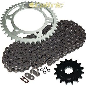 Steel O-Ring Drive Chain & Sprocket Kit Fits KAWASAKI EN500 Vulcan 500 Ltd 96-05