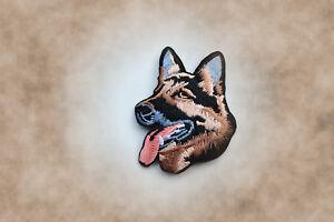 Deutscher-Schaeferhund-Patch-Aufnaeher-Aufbuegler-IPO-Hundesport-Gebrauchshund