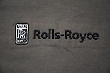 RARE ROLLS ROYCE LOGO SHIRT MEN'S XS EXTRA SMALL RR