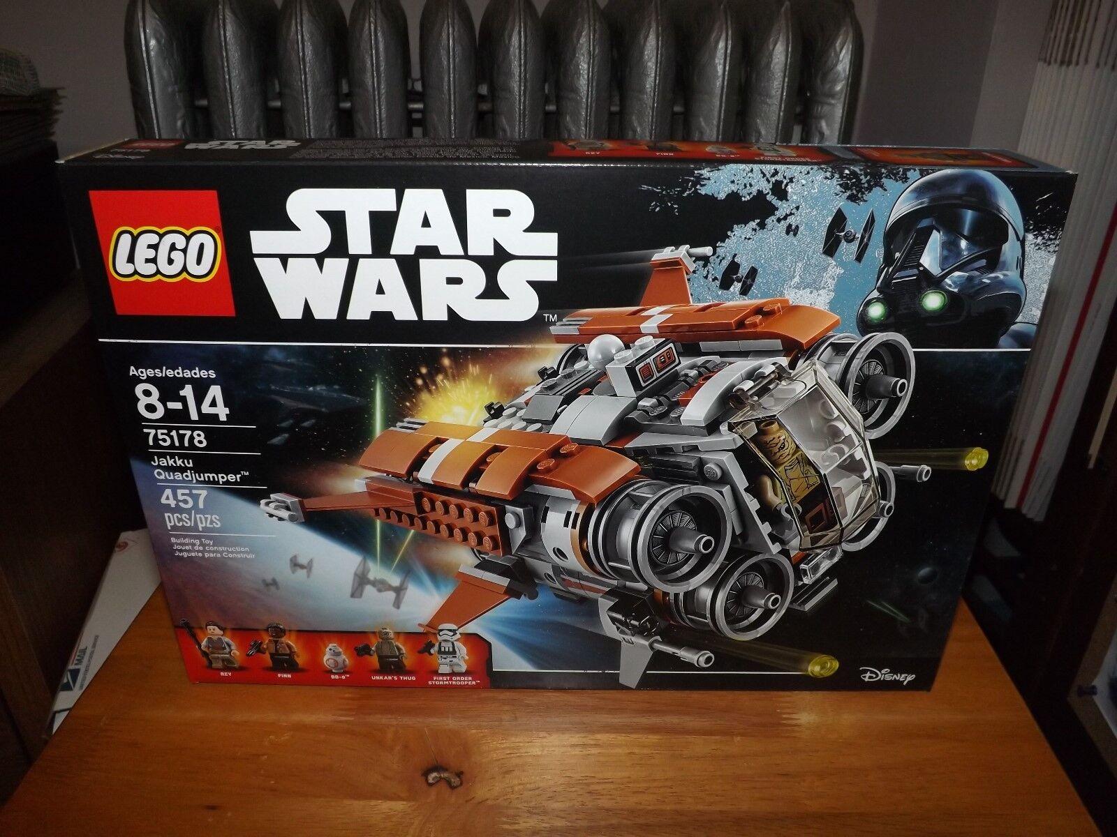 LEGO, STAR WARS, JAKKU QUADJUMPER, KIT  75178, 457 PIECES, NIB, 2017