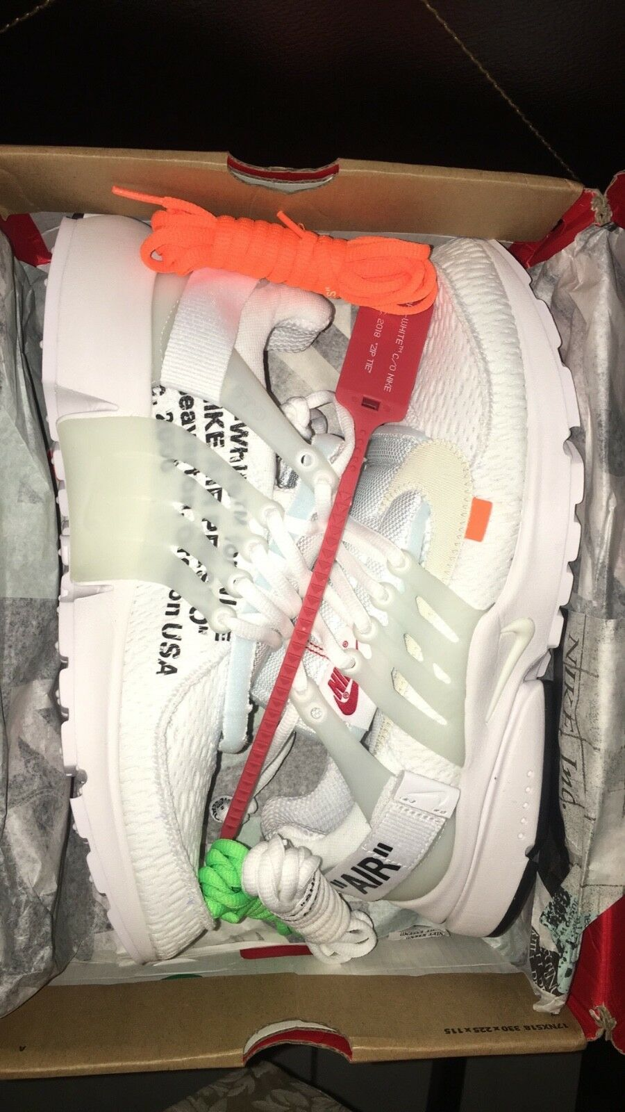 Air Presto Off-White White Price reduction Sz 10.5 DEADSTOCK best-selling model of the brand