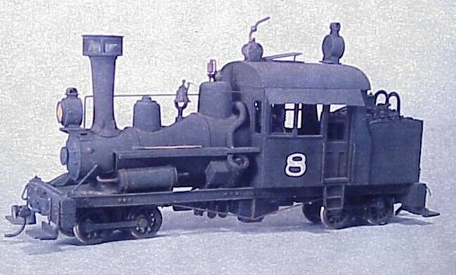 On30 WISEMAN MODEL SERVICES AHM   RIVAROSSI V&T SHOPS HEISLER CONVERSION KIT