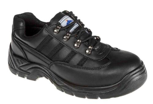 Safety Work Trainer Shoes Boot Toe Steel Toe Cap Work Sizes 4-13 Portwest FW15