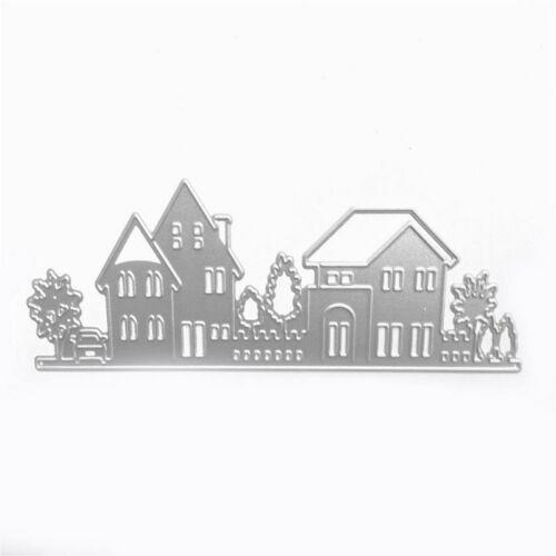 House Style Embossing Cutting Dies Stencil Stamps For Diy Scrapbooking Die  N4T6