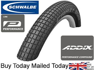Schwalbe Crazy Bob Addix 20 24 26 x 2.1 2.35 BMX Tyre Stunt Freestyle Street '19