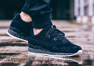 check out 4aa3c 0e4be Details about Asics x Reigning Champ RC Gel Lyte III Black H53GK-9090