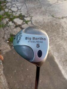 Callaway Golf 5  Big Bertha Steelhead  mazza RCH 99 series firm flex