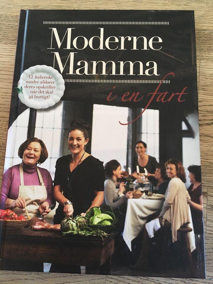 Moderne mamma i en fart, emne: mad og vin
