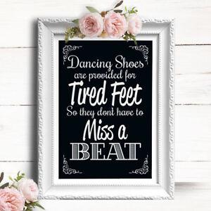 4863bfe2aec74e Image is loading Chalkboard-Effect-Wedding-Sign-Flip-Flops-Sandals-For-