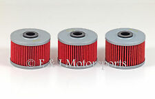 1999-2008 HONDA TRX400EX TRX 400EX FOURTRAX SPORTRAX 400 **3 PACK** OIL FILTER